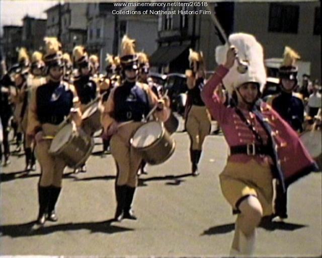 Parade, Millinocket, 1940