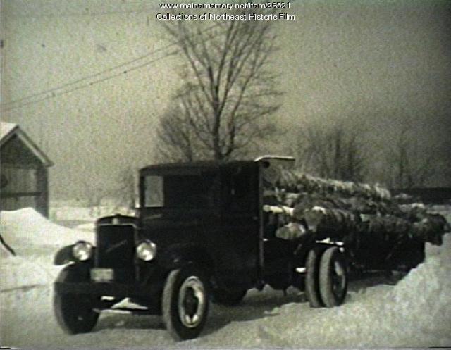 Logging, Bingham, ca. 1930