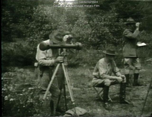 Maine National Guard drills, ca. 1933