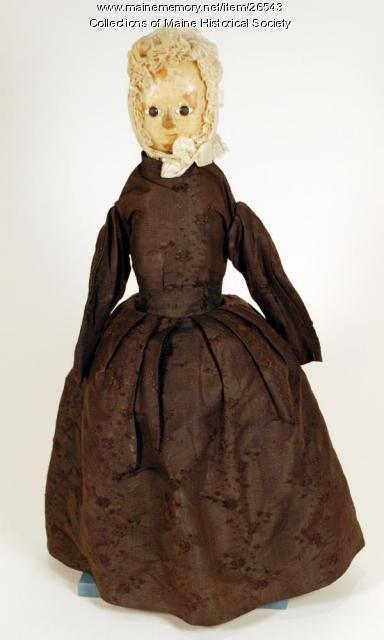 Child's doll, ca. 1775