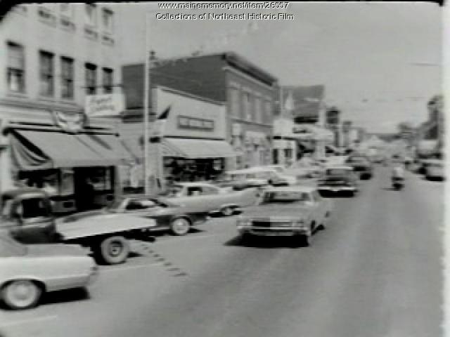 Street scenes, Fort Fairfield, 1967