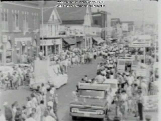 Potato Blossom Festival parade, Fort Fairfield, 1967