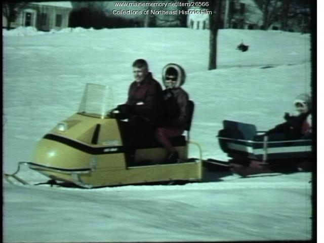 Snowmobile promotional film, ca. 1970