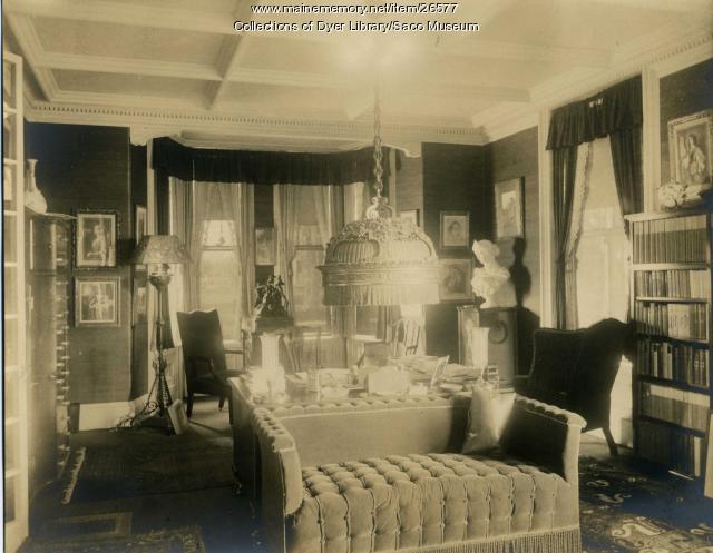 Deering Mansion, Saco, 1937