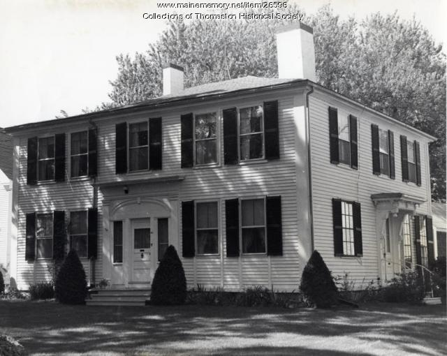 Burgess House, Thomaston, ca. 1960s