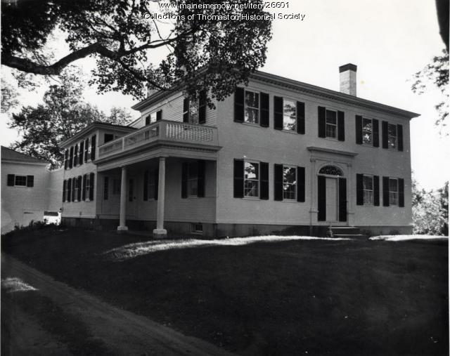 The Robinson House, Thomaston, ca. 1960s