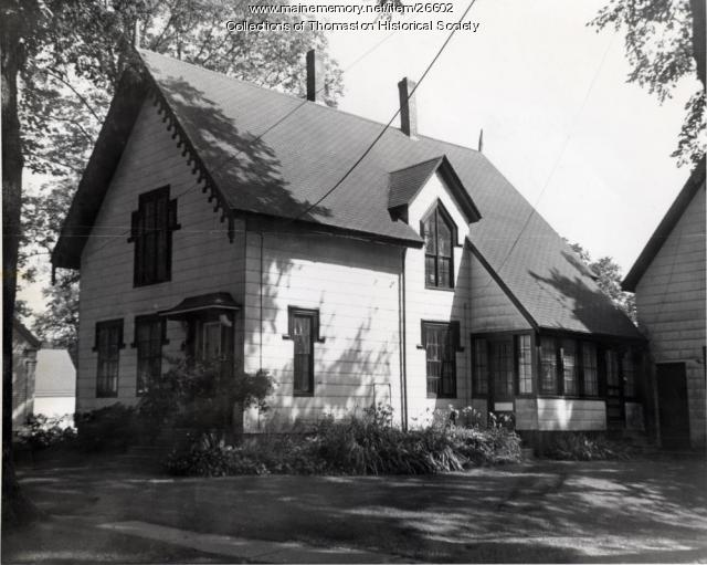 The Fernald House, Thomaston, ca. 1960s