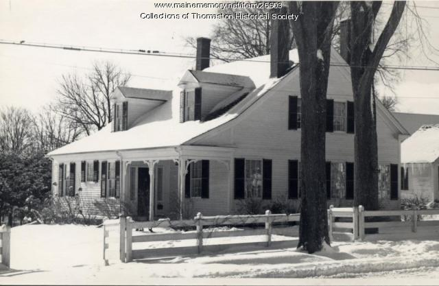 George Robinson House, Thomaston, ca. 1970s