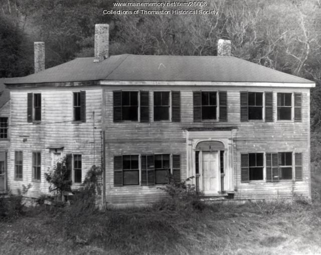 Hildreth Mansion, Thomaston, ca. 1900