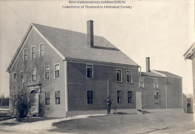 The Jerome Bushnell House, Thomaston, ca. 1870s