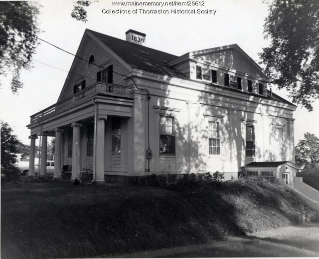 The William Keith House, Thomaston, ca. 1960s