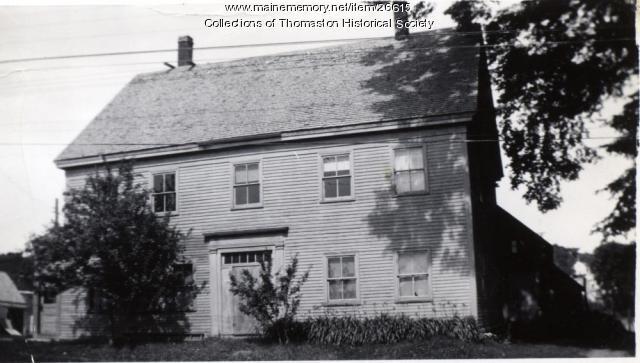 Cyrus Mank House, Thomaston, ca. 1870