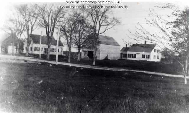 Two Morse Houses, Old County Road, Thomaston, ca. 1900