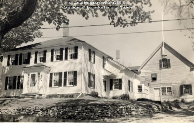 The Cushing House, Elliot Street, Thomaston, ca. 1970s