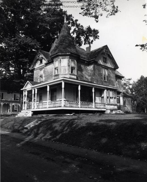 The Smalley House, Thomaston, ca. 1950