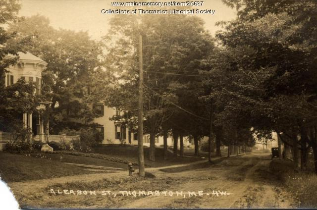 Gleason Street, Thomaston, ca. 1910