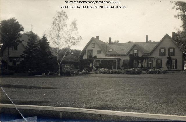 The Swett House, Thomaston, ca 1900