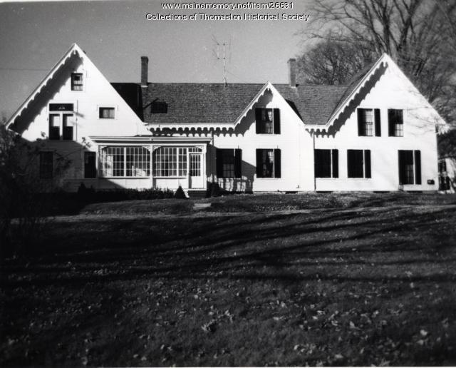 The John Swett House, Thomaston, ca. 1900