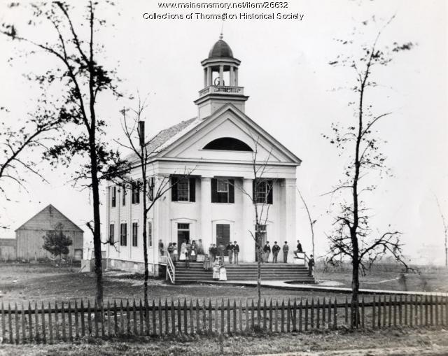 Thomaston Academy, Thomaston, ca. 1871