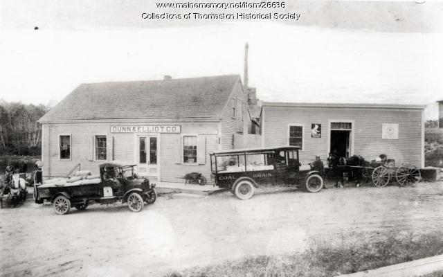 Dunn & Elliot Company Store, Thomaston, ca. 1930