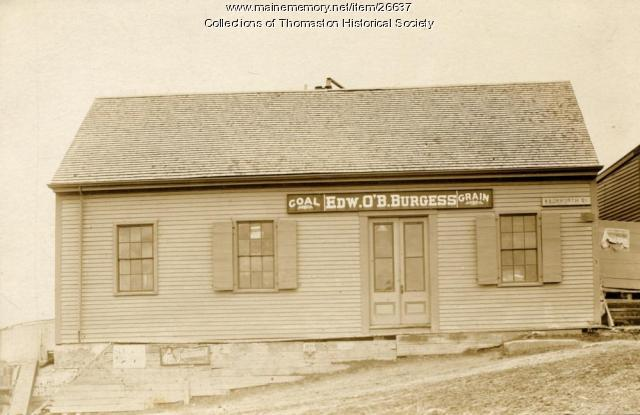 Burgess and O'Brien Store, Thomaston, ca. 1860