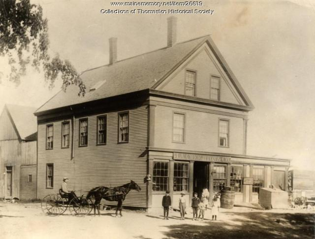 J. A. Creighton Store, Thomaston, ca. 1870