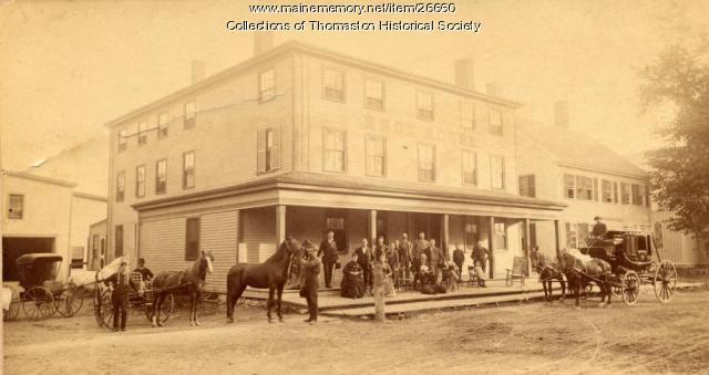 Knox House, Thomaston, 1870