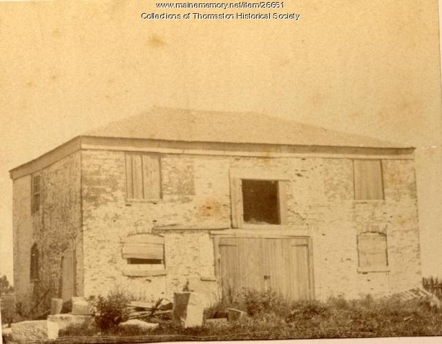 Knox Stable, Thomaston, ca. 1870