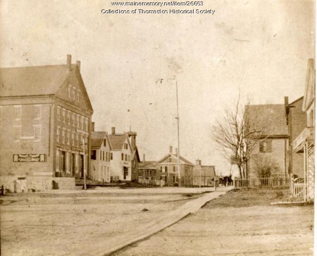 Prison Corner, Thomaston, ca. 1871