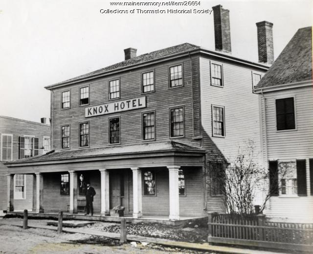 Knox Hotel, Thomaston, ca. 1871