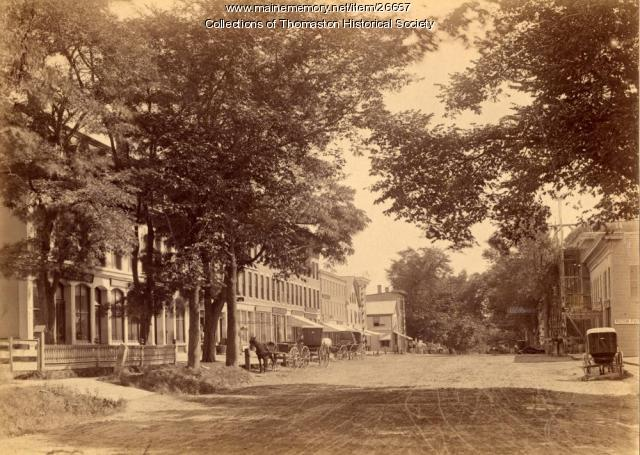 Main Street, Thomaston, 1890