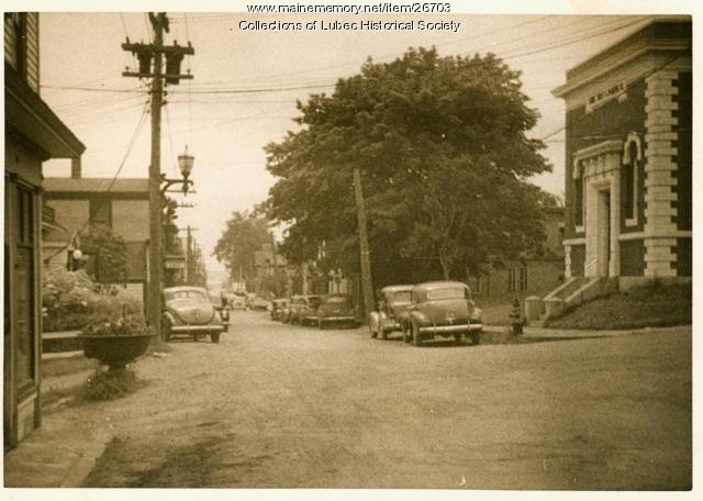 Water Street, Lubec, ca. 1930