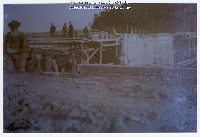 Klondike Plant No. 2 at Canal, North Lubec, 1898