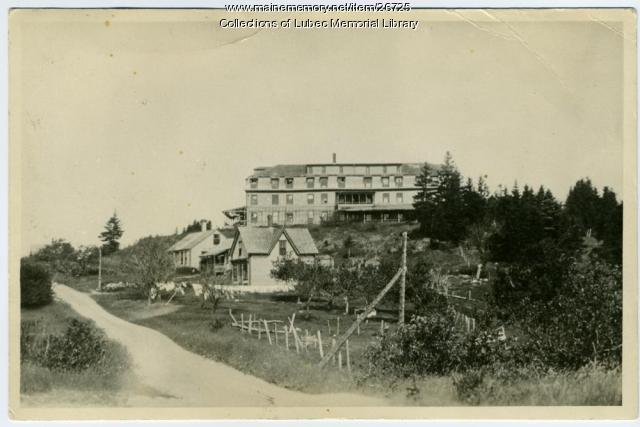Ne-mat-ta-no Resort Hotel, North Lubec, ca. 1920
