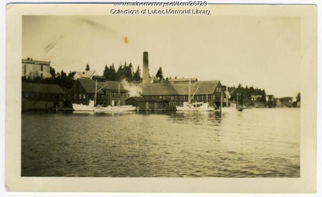 Lawrence Packing Co., North Lubec, 1936