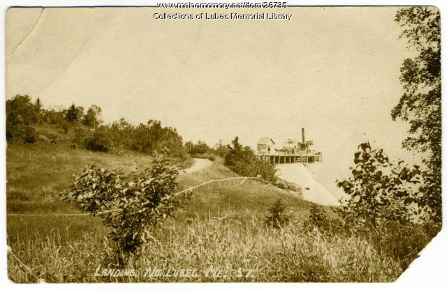 North Lubec Ferry Landing, North Lubec, ca. 1920