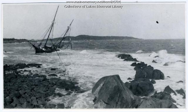 The Bessie Parker Shipwreck, Lubec, 1906