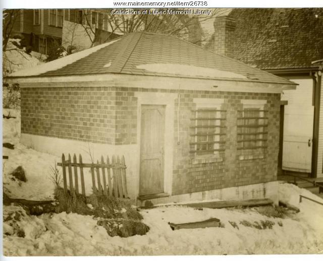 Lubec Jail, Lubec, ca. 1950