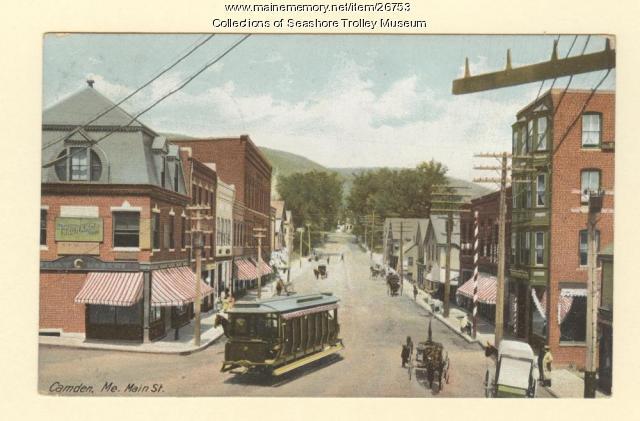 Camden, Main Street, ca. 1907