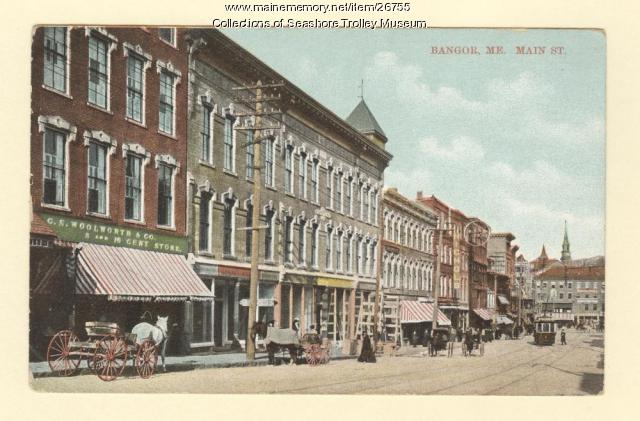 Main Street, Bangor, 1912