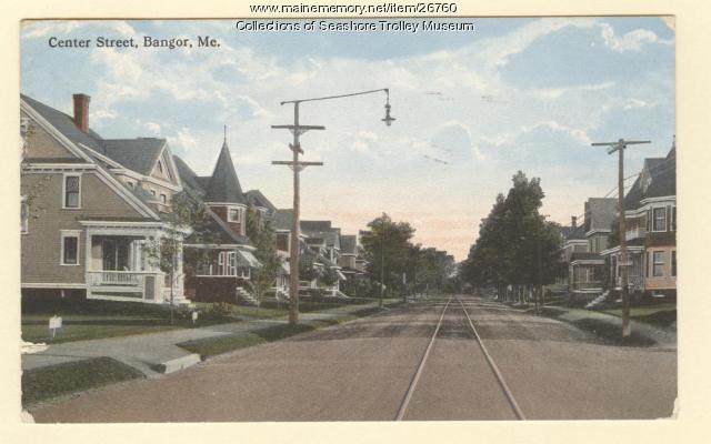 Center Street, Bangor, ca. 1910
