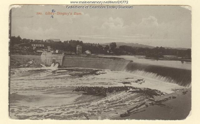 Libby-Dingley's Dam, ca. 1910