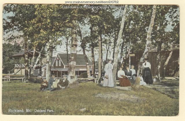 Oakland Park, Rockport, ca. 1920