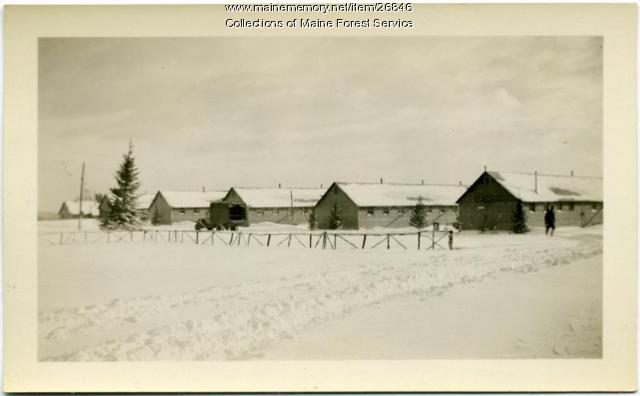 Civilian Conservation Corps camp, Jefferson, 1933