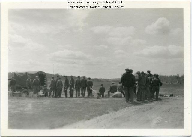 CCC crew, Augusta, 1935