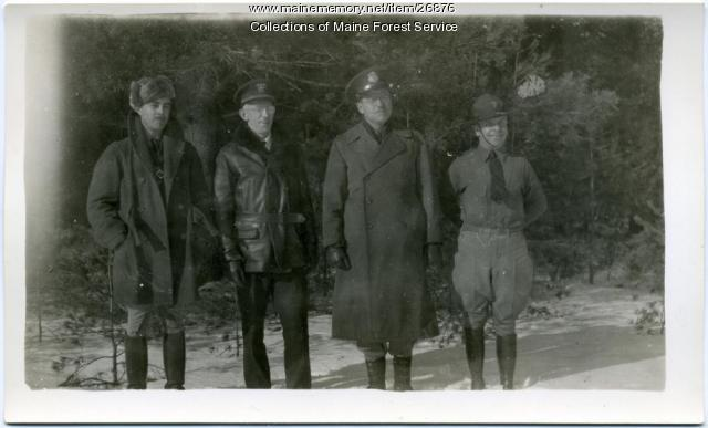 Forest Service officials, ca. 1934