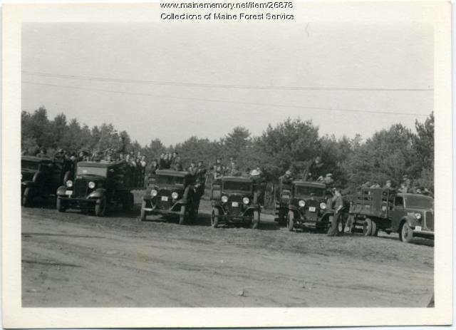 CCC trucks, Alfred, 1935