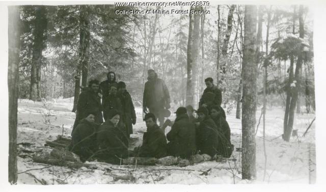 CCC Alfred crew, ca. 1934