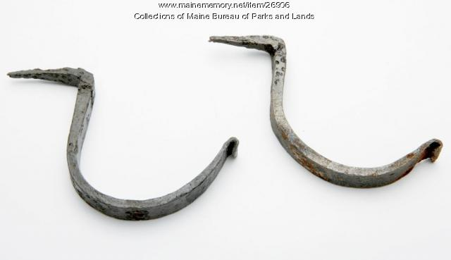 Iron Hooks Used to Hang a Musket