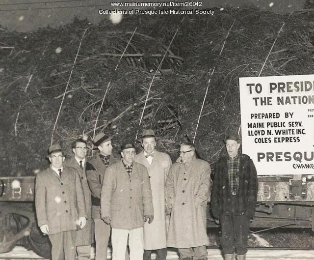 National Community Christmas tree Presque Isle Committee, 1959